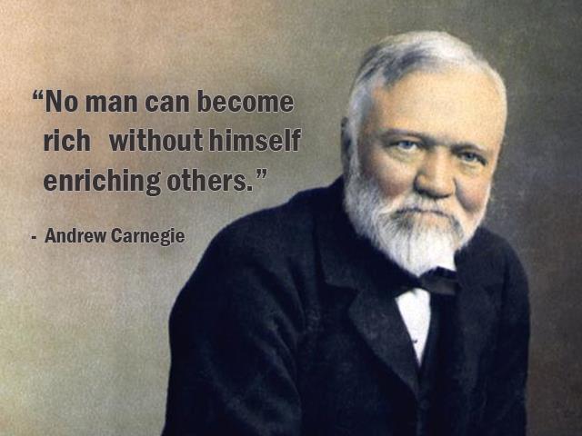 دانلود کتاب شاه کلید ثروت از ناپلئون هیل, بیوگرافی اندرو کارنگی,Andrew Carnegie